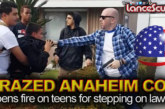 Crazed Anaheim Cop Opens Fire On Teens For Stepping On Lawn! – The LanceScurv Show