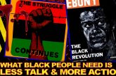What Black People Need Is Less Talk & More Action! – The LanceScurv Show