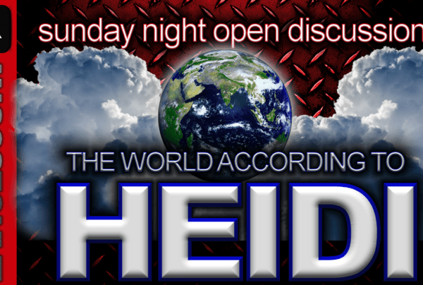 The World According To Heidi! – The LanceScurv Show