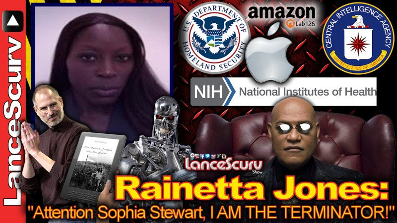"Rainetta Jones: Attention Sophia Stewart, I AM THE TERMINATOR!"" - The LanceScurv Show"