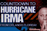 Countdown To Hurricane Irma From Orlando Florida! – The LanceScurv Show