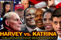 HARVEY vs. KATRINA: The Heavens Have Been Shaken! – The Dr. Ramona Brockett Show