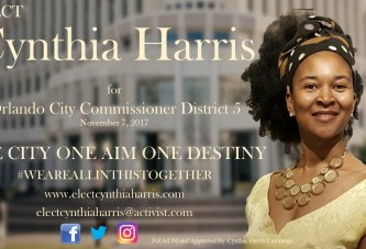 A LIVE CHAT with CYNTHIA HARRIS, An Orlando District 5 City Commissioner Candidate! (AUDIO ONLY)