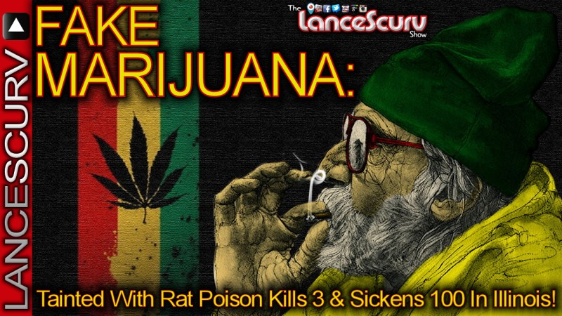 Fake Marijuana Tainted With Rat Poison Kills 3 & Sickens 100 In Illinois! - The LanceScurv Show