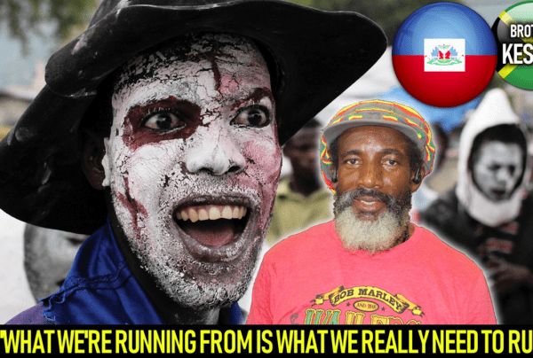 WHAT WE'RE RUNNING FROM IS WHAT WE REALLY NEED TO RUN TO! – BROTHER KESTON