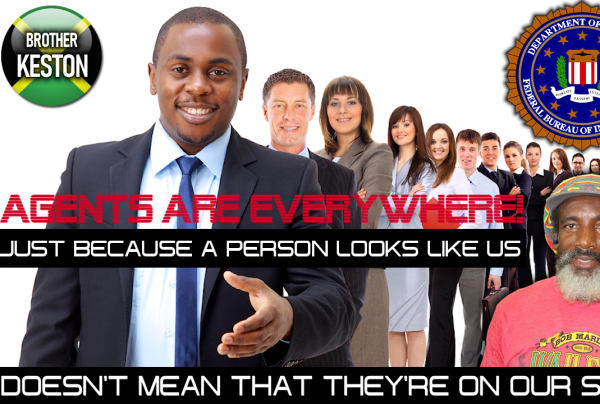 JUST BECAUSE A PERSON LOOKS LIKE US DOESN'T MEAN THAT THEY'RE ON OUR SIDE!