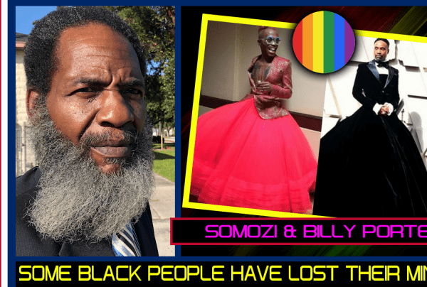 SOME BLACK PEOPLE HAVE LOST THEIR MINDS! – MR. POLITICAL