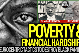 DEALING WITH POVERTY & FINANCIAL HARDSHIPS IN THE BLACK COMMUNITY!