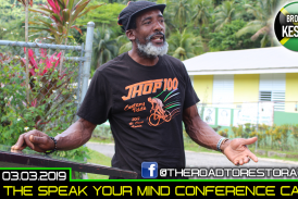 THE SPEAK YOUR MIND CONFERENCE CALL WITH BROTHER KESTON! – MARCH.3.2019