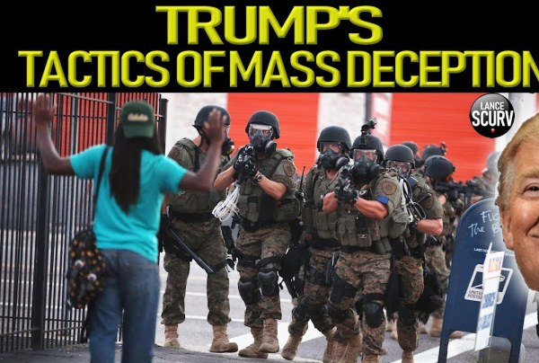 TRUMP'S TACTICS OF MASS DECEPTION!
