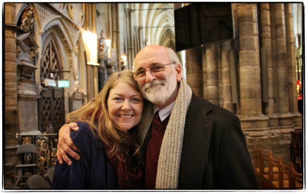 Diana and Jerry in Westminster Abbey - Image copyright Lancia E. Smith - www.lanciaesmith.com
