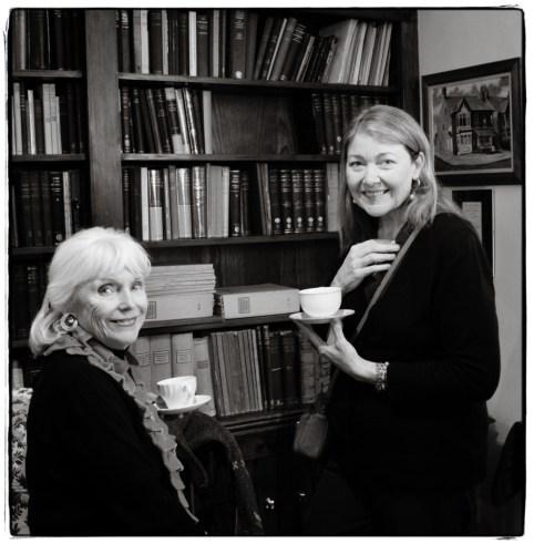 Martha and Diana in the Library - Image Copyright Lancia E. Smith - www.lanciaesmith.com