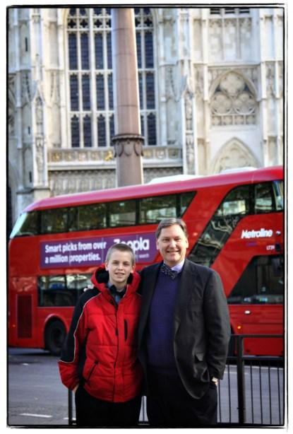Will and Josh in London! - Image copyright Lancia E. Smith - www.lanciaesmith.com