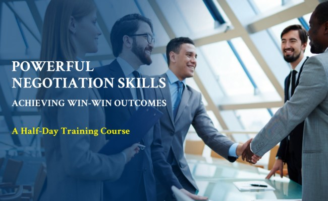 Powerful Negotiation Skills Achieving Win Win Outcomes