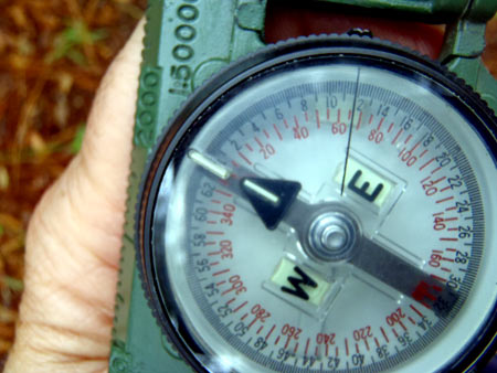 Using a Lensatic Compass