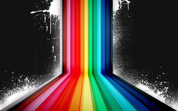 Dark Rainbow Colors