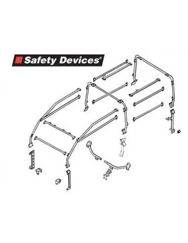 Arceau Safety Devices 6 points exterieur pour Defender 90