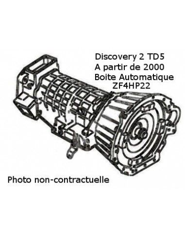 Boite de vitesse automatique pour Discovery TD5 ech/std