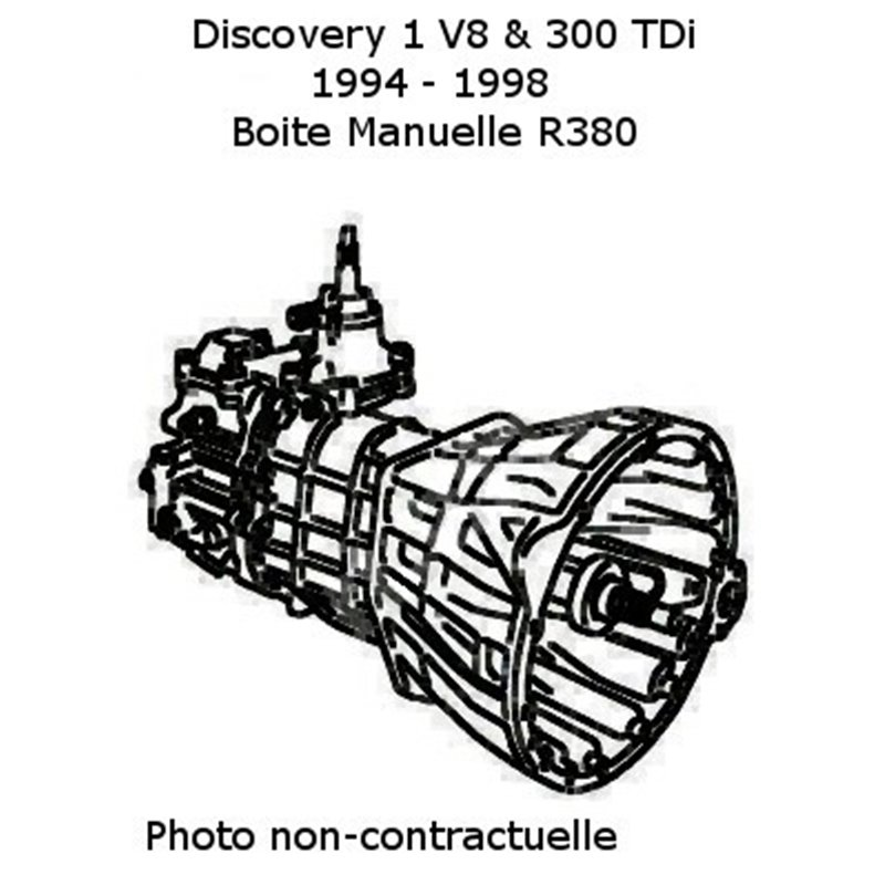 Boite de vitesse manuelle pour Discovery 300 TDI V8 ech