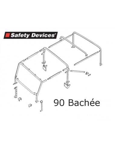Arceau Safety Device 8 points pour 90 Defender Bachée