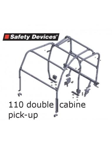 Arceau 8 points SAFETY DEVICE pour 110 TD5 double cabine