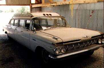 Land Yachts 59 Chevy Stretch