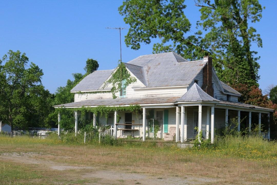 Dilapidated Rural Home