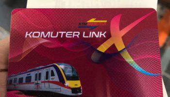 KTM Komuter - Kad Komuter Link X