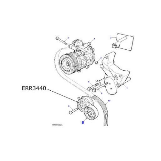 Rola intinzatoare curea Aer Conditionat motor 4000cc V8