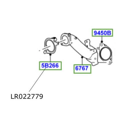 Garnitura conector filtru particule Range Rover L322L405