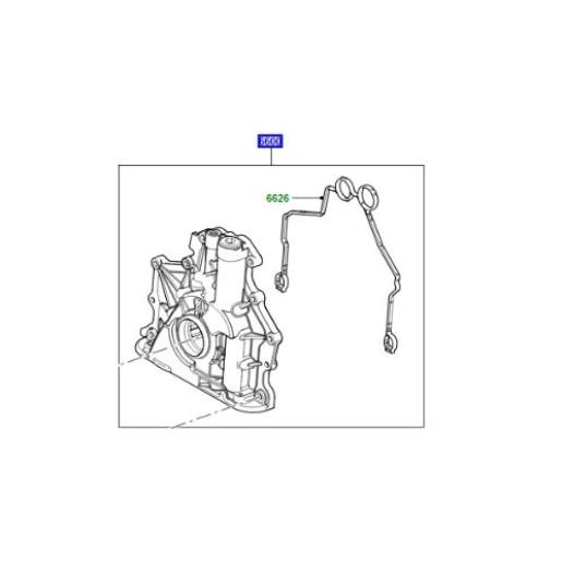 Pompa ulei motor V8 diesel Range Rover L322 L405 si Sport