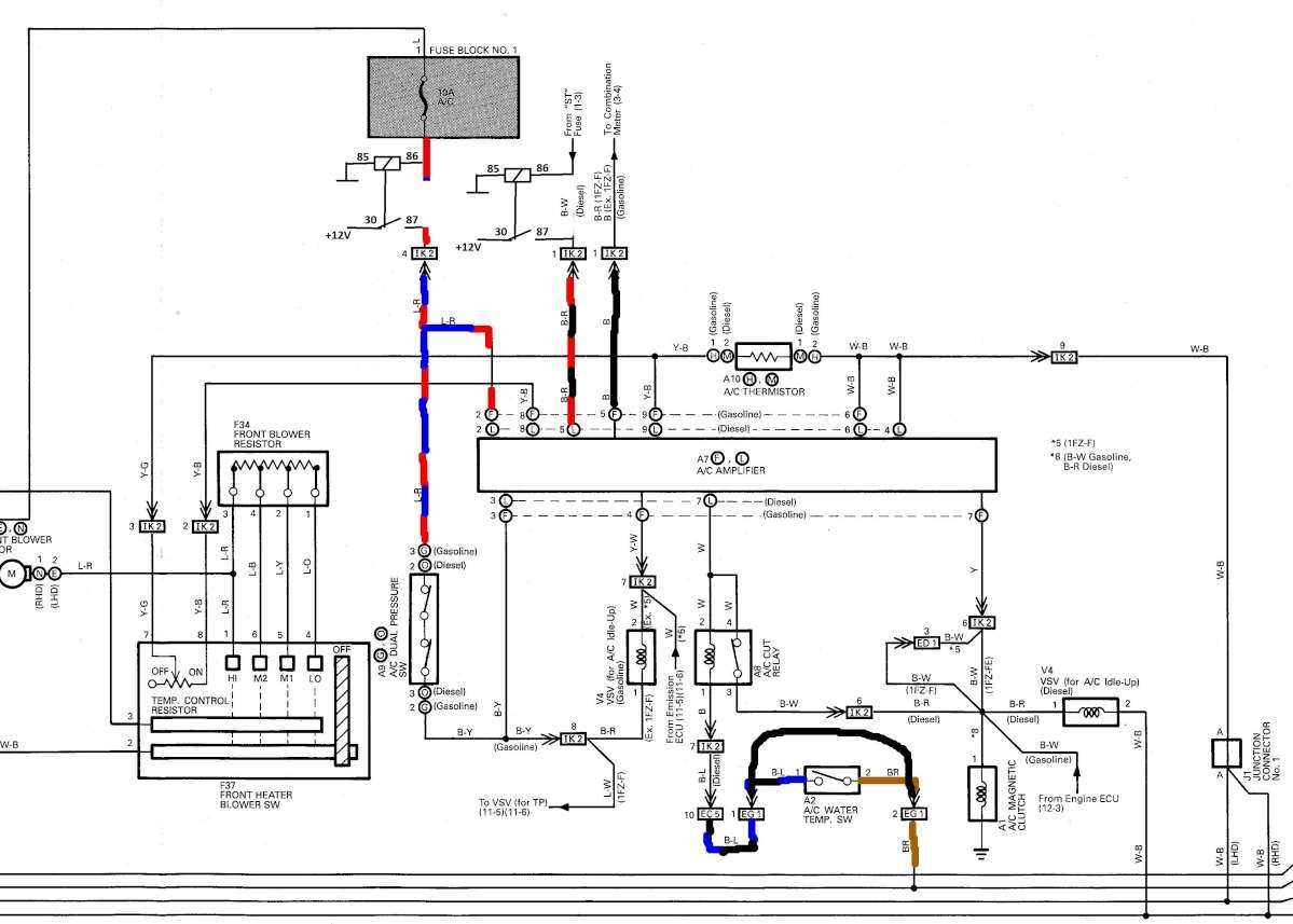 Electrical Wiring Diagram Toyotum Land Cruiser Vdj79
