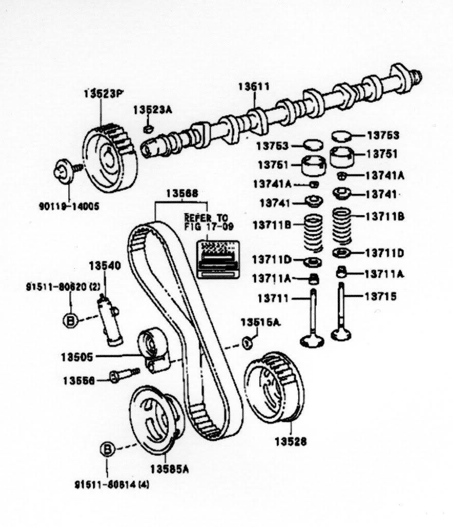 Toyota Land Cruiser Prado Timing Chain Diagram. Toyota