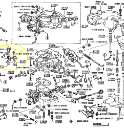 22r toyota landcruiser my carb schematic png very close to my carb but not sure it is exact match png [ 1600 x 1118 Pixel ]