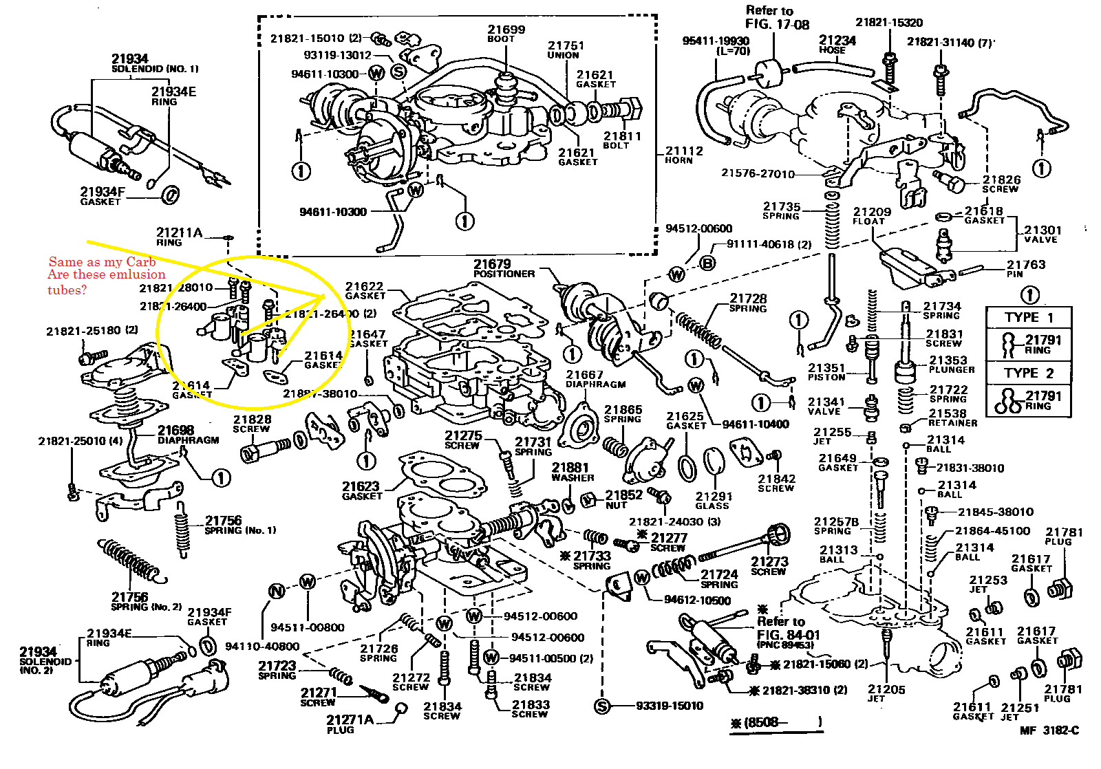 hight resolution of 22r toyota landcruiser my carb schematic png very close to my carb but not sure it is exact match png