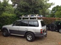 Roof rack height | Land Cruiser Club