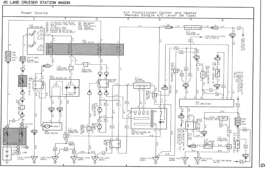 land cruiser 200 electrical wiring diagram suzuki gsxr 750 a/c clutch not engaging | club