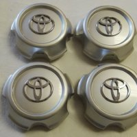 4 X Wheel Center Hub Caps 98-02 Toyota Land Cruiser Silver 5 Lugs Only