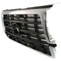 Diften 102-A1596-X01 - New Grille Assembly Grill Chrome Toyota Land Cruiser 97 96 TO1200207 5310160130