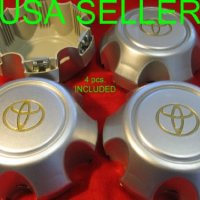4pcs. 1990-1998 Toyota Land Cruiser FJ80 Center Alloy Wheel Hub Caps Set of 4