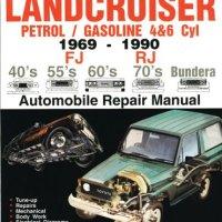 Landcruiser Petrol/Gasoline 4 & 6 cyl 1969-90 Auto Repair Manual-Toyota FJ,RJ,40's 55's 70's Bundera (Max Ellery's Vehicle Repair Manuals)