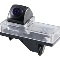 Gazer CA603 Car Rear-view Backup Camera License Plate Light Mount for Toyota Land Cruiser