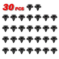 AUTEX 30pcs Fender Liner Fastener Rivet Push Clips Retainer Nut for Scion xA xD Toyota Avalon Camry Corolla Echo Land Cruiser Matrix MR2 Spyder Paseo Prius Sequoia Tercel Yaris Venza Tundra