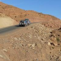Road between Zagora and Tinerhir, Morocco