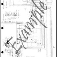 1979 Toyota Land Cruiser FJ40 Electrical Wiring Diagram Original 2-door gas