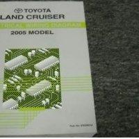 2005 Toyota Land Cruiser Electrical Service Manual EWD