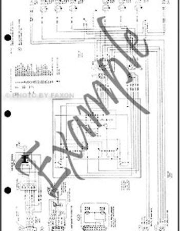 1981 Toyota Land Cruiser FJ60 Electrical Wiring Diagram ...