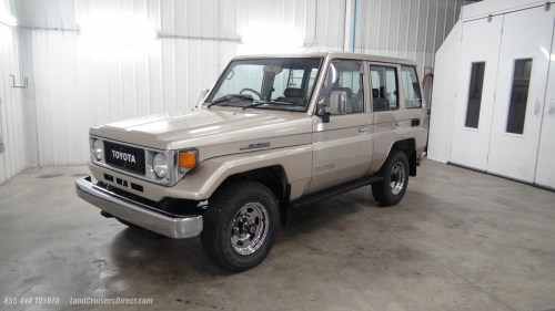small resolution of land cruisers direct vehicle inventory 1988 toyota land cruiser bj74 lx 2911