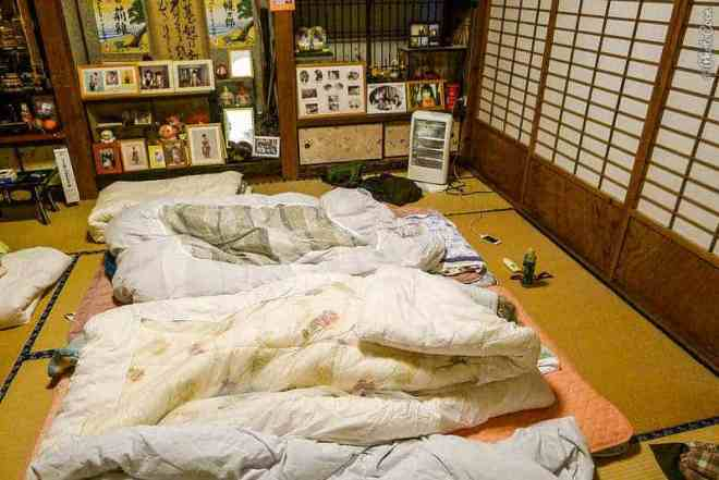 Bedroom in Japan (©photocoen)