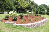 A Berm for Curb Appeal - LAND DESIGNS UNLIMITED LLC